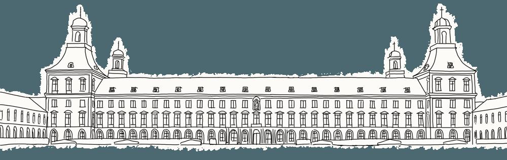 Hauptgebäuder der Universität Bonn